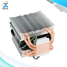 CoolerBoss CAH-409-09 4PIN 9CM Fan 4 Heatpipe Dual-Tower CPU Radiator Intel LGA775/1150/1155 AMD AM2+/AM3+/FM1/FM2 CPU Cooler