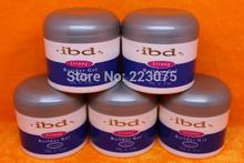 Hot IBD 56g UV Builder Gel 2oz CLEAR Nail Tips 2oz/56g 5 PCS/lot