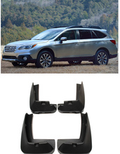 Mud Flaps Splash Guards mudguard Set of 4 Pcs Front Rear for SUBARU OUTBACK 2010 2011 2012 2013 2014 Free Shipping(China)