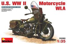 Out of print product! [MiniArt] Plastic Model Kit 1/35 U.S. WW II Motorcycle Wla (35080)(China)