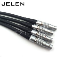 FGG.0B.303.CLAD, LEMO 0b connector 3 pin plug welding cable 1M, power cable plug, (cable length; 1M)(China)