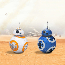 Star Wars The Force Awakens Remote Control Robo  BB8 BB-8 RC Children Boys Toys Gifts With Sound and Light