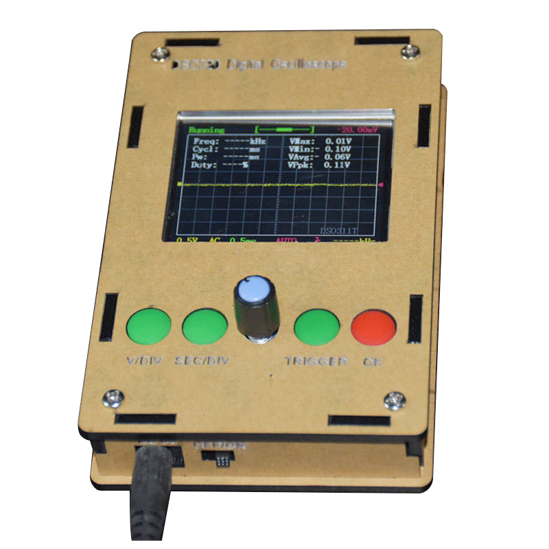 New Product Promotion!DSO311 2.4 inch TFT LCD Mini Digital Oscilloscope(1Msps) STM32 12-Bit with Probe<br>