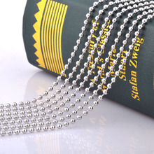 10pcs/lot stainless steel chain necklace,stainless steel men necklace pendant matching chain wholesale dog tag chain men jewelry