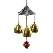 Amazing Great Sound Bronze Color Bells Wind Chimes China Copper Coin Home Decor Happy Gifts High Quality