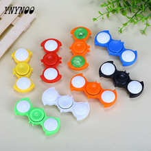 Buy YNYNOO LED Light Hand Spinner Tri Fidget Flash EDC Finger Spinner Autism ADHD Relief Focus Anxiety Stress relax Gift Toy for $1.28 in AliExpress store