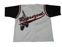 Custom Black Brown Big Chest Logo Baseball Jerseys For Teams