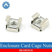 10Pcs M4 M5 M6 M8 Stainless Steel 304 Quartet Floating Nut Cassette Elastic Enclosure Card Cage Nuts Nickel(China)