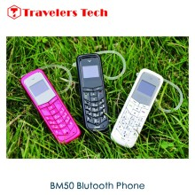 5 PCS/ Lot  Cheap Small Size Bluetooth Cell phone GTstar BM50 0.66Inch Tiny Screen 300mAh smallest mobile phone