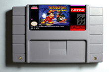 Action Game Cartridge - The Magical Quest starring Mickey Mouse English Language USA Version
