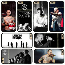 JR0504 Linkin Park Chester Bennington Rock Band Hard Phone Case Cover Fits For iphone X 5 5s 5c 6 6s 6 plus 6s plus 7 7 8 8plus(China)