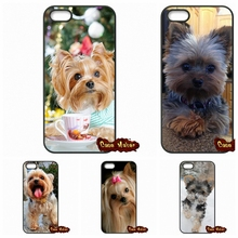 Yorkshire Terrier Puppy Dog Phone Capa Covers Case For iPhone 4 4S 5 5C SE 6 6S 7 Plus Galaxy J5 A5 A3 S5 S7 S6 Edge