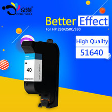 2pcs Ink Cartridge 51640A 51640 40 BK for HP Deskjet 250C 650C 1200C 350C 450 printer(China)