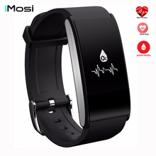 IMOSI A58 Smart Band Bracelet Blood Pressure Watch Heart Rate Blood Oxygen Monitor Sport Wristband Waterproof Fitness Tracker