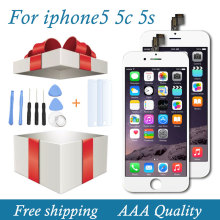 BEST AAA No Dead Pixel Pantalla LCD For iPhone 5 iphone 5c iphone 5s LCD Display Touch Screen Replacment Full Digitizer Assembly