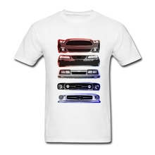 Summer Short Formal T Shirt Maker Male Car Tees with Mustang Legacy School men Custom T Shirt 100% Cotton Best Choice