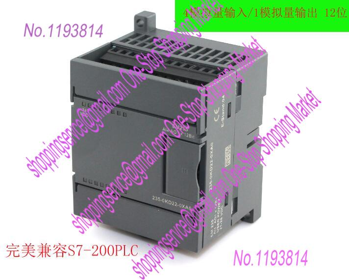 4 input 1 output PLC analog expansion module EM235-AI4AQ1 compatible with s7-200 replace 6ES7235-0KD22-0XA0<br><br>Aliexpress
