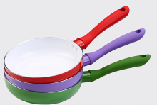 18cm-26cm Ceramic Pan Nonstick Frying Pan Ceramic Fry Egg Pan