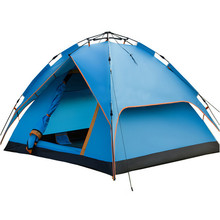210*205*125cm Double Layer Camping Tents Waterproof Windproof Hiking Tents Automatic Tents UV-Anti China Shop Online