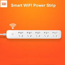 Original Xiaomi Chingmi Smart Power Strip 5 Ports Socket WiFi APP Remote Control Smart Outlet Plug Timing Switch for Android