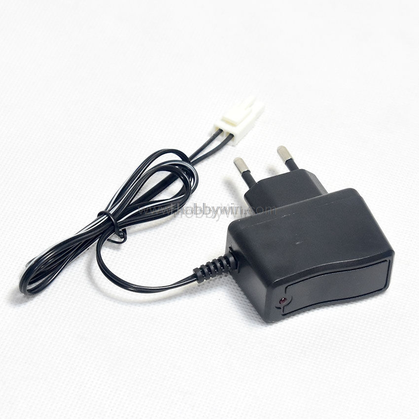 9.6V 250mA EU Charger for NiMH NiCD Big Tamiya male plug Positive to Square