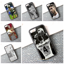 sergio ramos cell phone case best material cover for iphone 4 4s 5 5s 5c SE 6 6s & 6 plus 6s plus 7 7 plus #K376