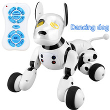 2.4G Wireless Remote Control Smart Dog Electronic Pet Educational Children's Toy Dancing Robot Dog without box birthday gift(China)
