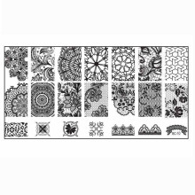 Buy 2017 fashion Women Nail Art DIY Nail Stamp Stamping Image Plate Print Nail Art Template P30 F35 for $1.00 in AliExpress store
