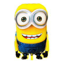 92*63cm Big Size Minion Balloons Cartoon ball Classic Toys Christmas Birthday Wedding Decoration Party inflatable air balloon(China)