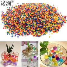 10000 pcs /Bag Home Decor Pearl Shaped Crystal Soil Water Beads Bio Gel Ball For Flower/Weeding Mud Grow Magic Jelly Balls(China)