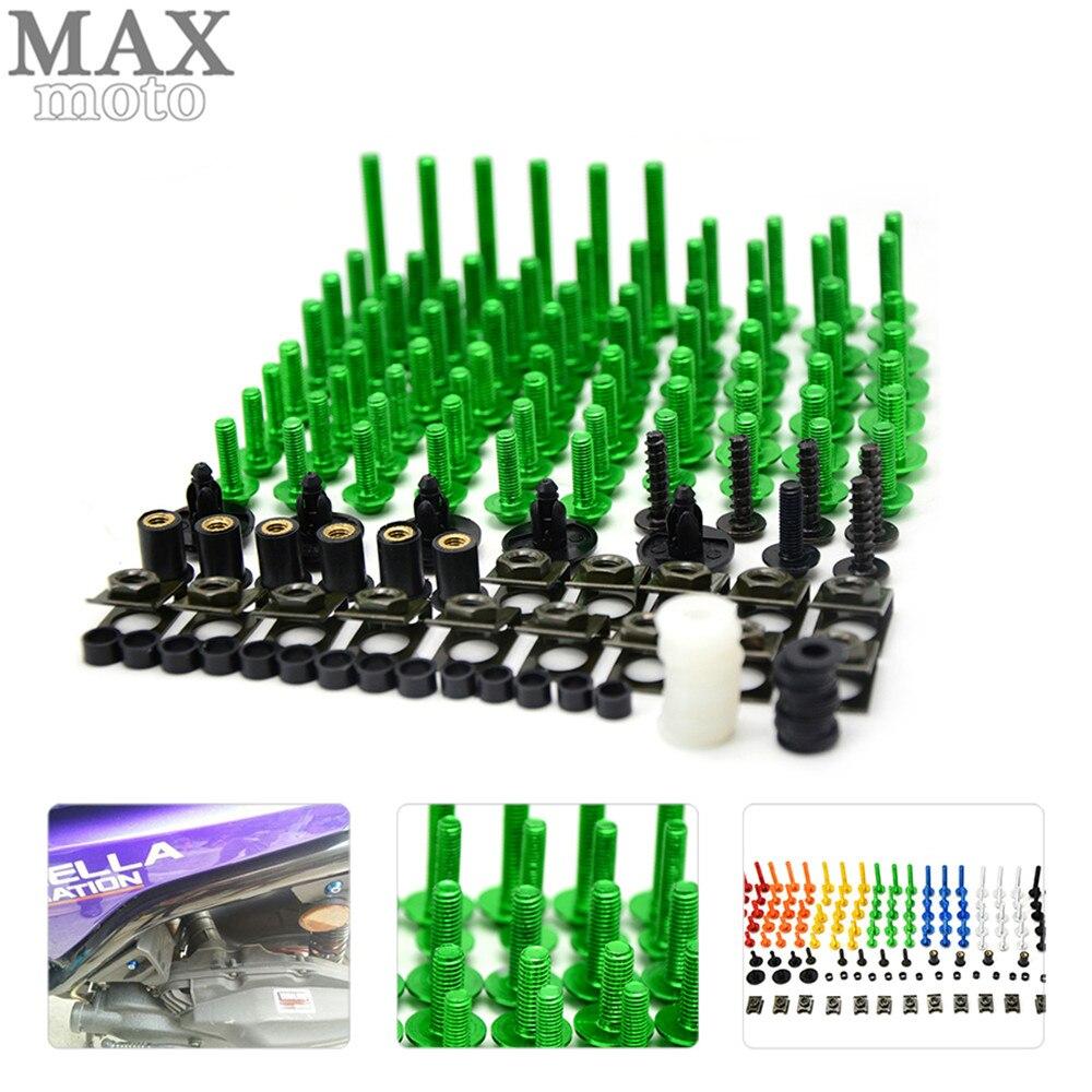 motorcycle accessories custom fairing screw bolt windscreen screw FOR honda CB600 599 919 CBR600 250 400 Hornet 250 VTR 250 VFR<br>