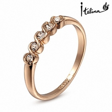 Brand TracysWing Genuine Austrian Crystal gold Color Fashion Rings for Women healthy Anti Allergies  Zirconia RG90035