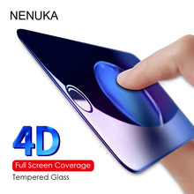 Buy NENUKA 4D Curved Premium Tempered Glass iPhone 8 plus 4D Full cover Screen Protector Film iPhone 6 6S 7 Plus X 10 Glass for $2.97 in AliExpress store