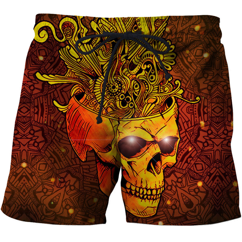 Crazy Anime 3d Printed Beach Shorts Men Casual Board Shorts Plage Quick Dry Shorts Swimwear Streetwear 8xl Dropship Zootop Bear Men's Clothing