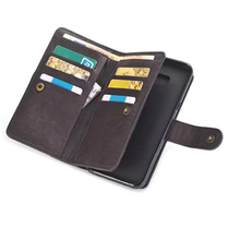 Multi-functional wallet models For samsung galaxy S8plus The latest mobile phone wallet models high quality + free shiping(China)