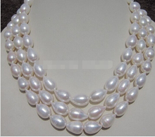 "1321 49 ""   AAA++south sea WHITE BAROQUE PEARL NECKLACE"