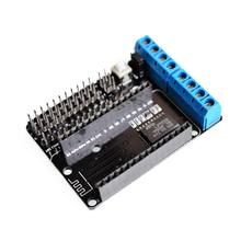 NodeMCU Motor Shield Board L293D for ESP-12E from ESP8266 esp 12E kit diy rc toy wifi rc smart car remote control