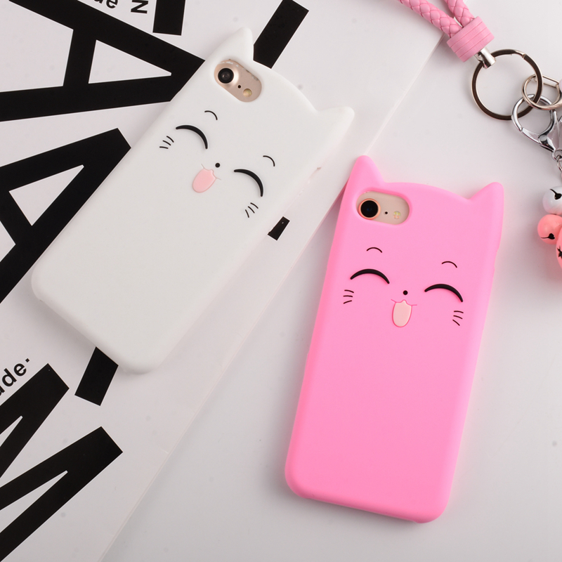 FREE Cute silicone 3D Phone Cases iphone 5s 5 SE