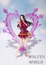 Free Shipping New Anime One Piece Boa Hancock PVC Action Figure Hancock Fighting Style Figure Model Toy 15CM