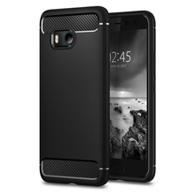 100% Original RUGGED ARMOR Case for HTC U11 Carbon Fiber Texture Design Durable TPU Case for HTC U11 / HTC U 11 / HTC Ocean