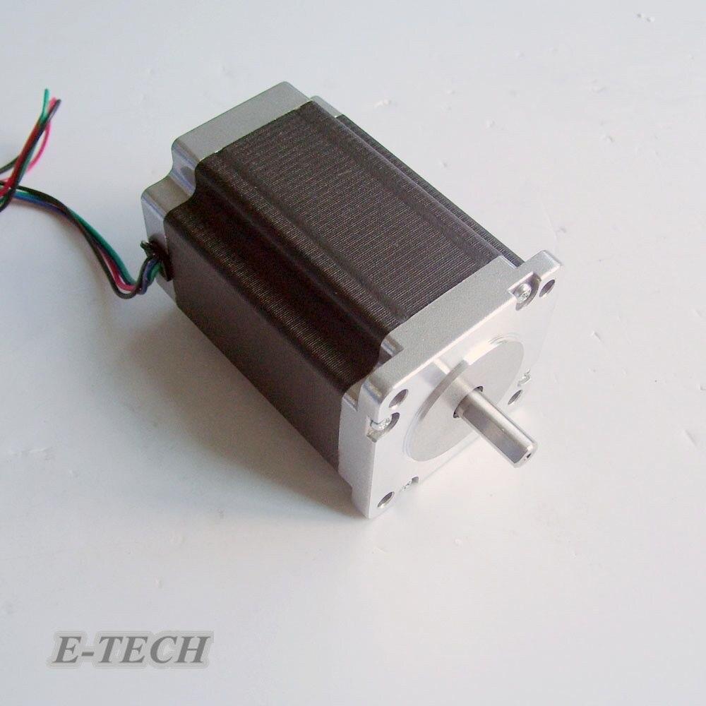 3pcs/lot Nema 24 stepper motor 2.2n. m (306oz-in) 1.8 deg. frame 60 mm body length 76 mm CE ROHS cnc stepper motors<br>