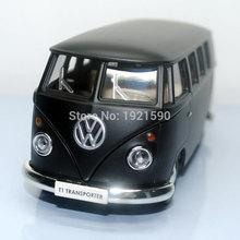 Brand New 1/36 Scale UNI Germany Classical Bus Diecast Metal Pull Back Car Model Toy For Gift/Collection/Kids/Decoration