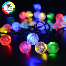 Coversage Solar Lights Garden Decoration Outdoor Waterproof 6M String Christmas Holiday Lighting Fairy Lamps Wedding - COVERSAGE Official Store store