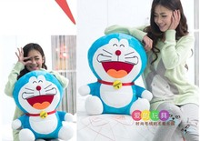 huge 65 cm laugh a hearty laugh expression Doraemon plush toy lovely doll throw pillow birthday gift w5789