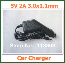 5V 2A DC 3.0x1.1mm Car Charger for Tablet PC Huawei MediaPad 7 Ideos S7,S7-Slim,S7-301U,S7-301W Adapter