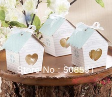 "New Style ""Love Nest"" Bird House Favor Candy Box For Wedding Decoration Gift Paper Favors Boxes Wedding Favors and Gifts Box"