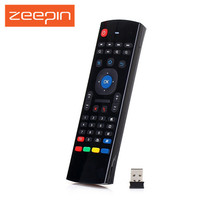Zeepin 2.4G Wireless Full Keyboard Air Mouse Remote Control for Smart TV Android Box TV Dongle Smart Phone Tablet PC
