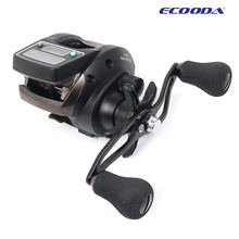 Fishing Line Counter reel 6kg Drag 6.2:1 Electronic Digital Display Fishing Reel 7 Ball Bearing Casting Fishing Reel pesca(China)