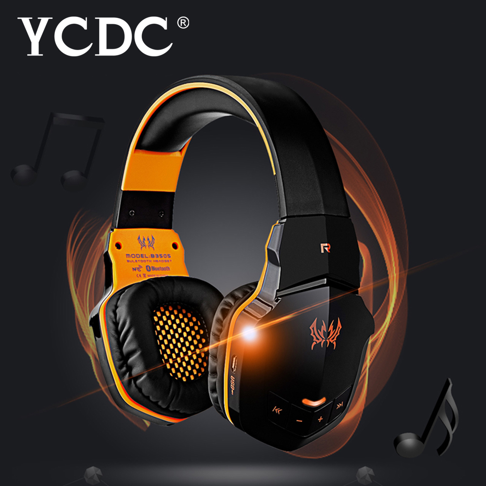 B3505 Sport Headband Bluetooth 4.1 Wireless Stereo Gaming Headset Mic/Call Orange / Black / Blue / white<br>