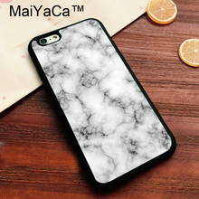 MaiYaCa Novalty Marble Pattern Luxury Phone Cases for Apple iPhone 8 Soft TPU Coque Phone Capa For iphone 8 Back Cover